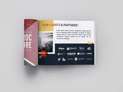 Free Half Letter Booklet Catalogue Mockup