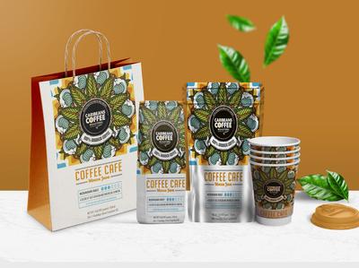 Coffee Tea Packaging Branding Mockup