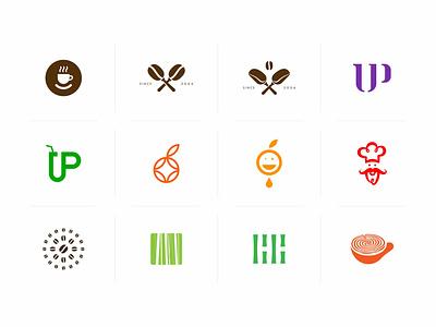 Free Food Iconic Logo Set psd mockups mockup psd download mock-up mockup download mock-ups download mockup