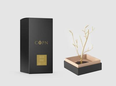 Premium Showcase Gift Box Mockup