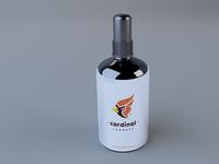 Free Spray Deo Bottle Mockup