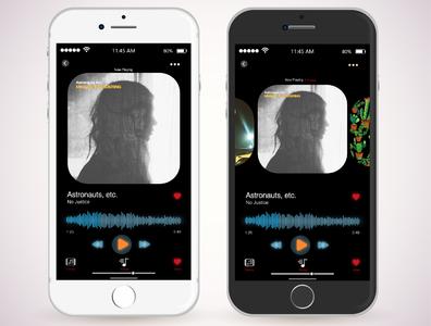 Music app UI / UX