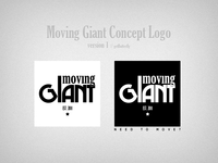 Moving Giant Concept Logo