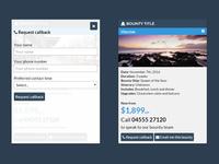 CSS/JS Interactive Panels