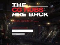 CG Hubs Landing Page