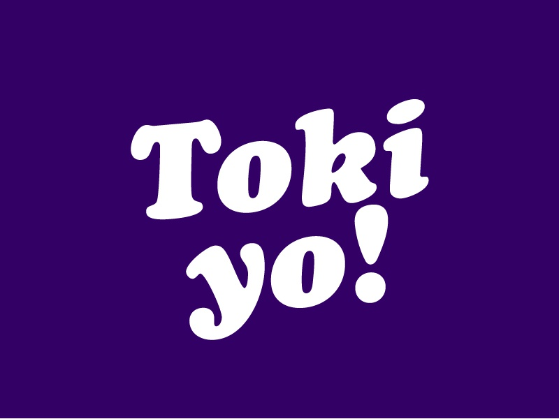 TOKI YO graphic design graphic tshirt merch type design typography toyko