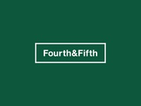 Fourth & Fifth — Logo Design