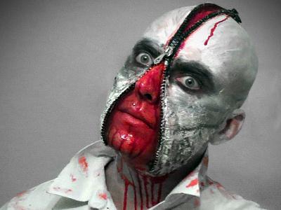My own halloween zipper Version halloween zipper sfx mask