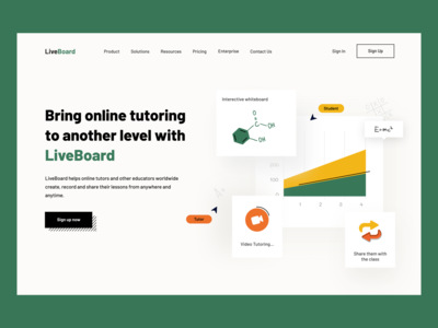Liveboard 👩‍🎓 branding app mobile tutor lesson education online school dashboad creative ux ui android ios design
