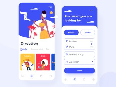 Vacation planning App