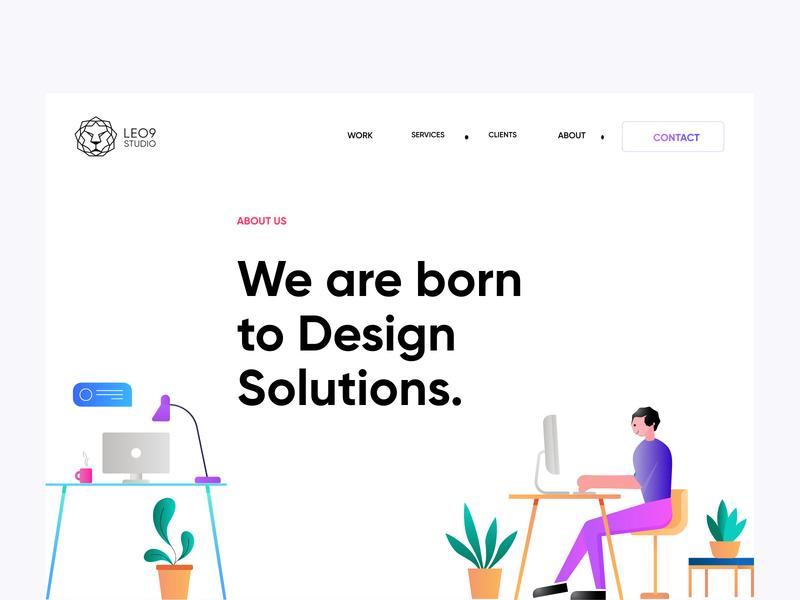 Leo9 Studio about us web design webdesign website graphics illustration vector vector art illustrations ui ux