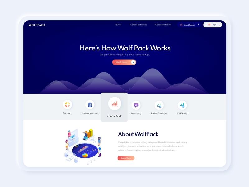 Web App for Fin-Tech Product flat branding design illustration logo landingpage webapplication web app web icon dashboard design illustrations voice ui ux