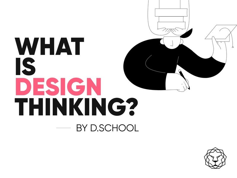 Design Thinking minimal branding flat illustration typography vector art design illustrations ui ux