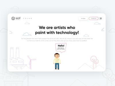 Leo9 studio - Team page