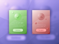 Daily UI: Day Eleven - Error/Success Messages