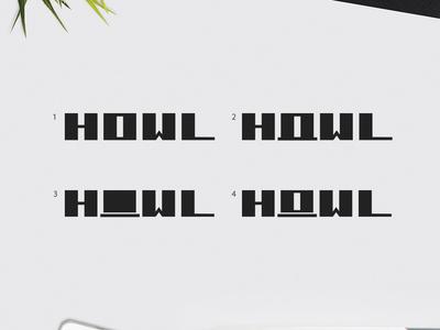 HOWL-LogoType Options