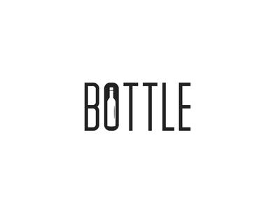 Minimal Bottle Logomark