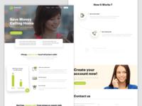 Telecommunications Company Homepage