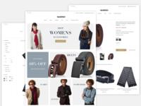 Full E Commerce Website (Homepage + Product + Catalog)