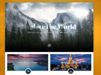 Explore the World Homepage