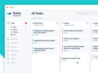 Simple Dashboard - Task Manager