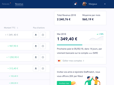 Dashboard : Payment Page