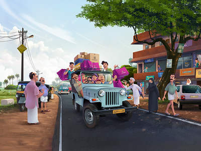 Kasavukendra illustration digital art photoshop painting