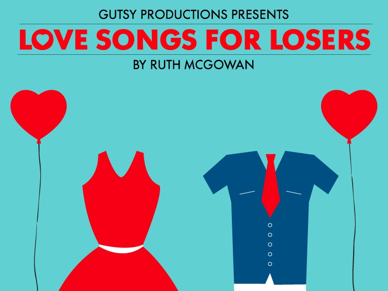 Love Song for Losers poster flyer leaflet vector illustration