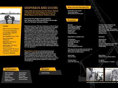 Titantic booklet design typography leaflet corporate