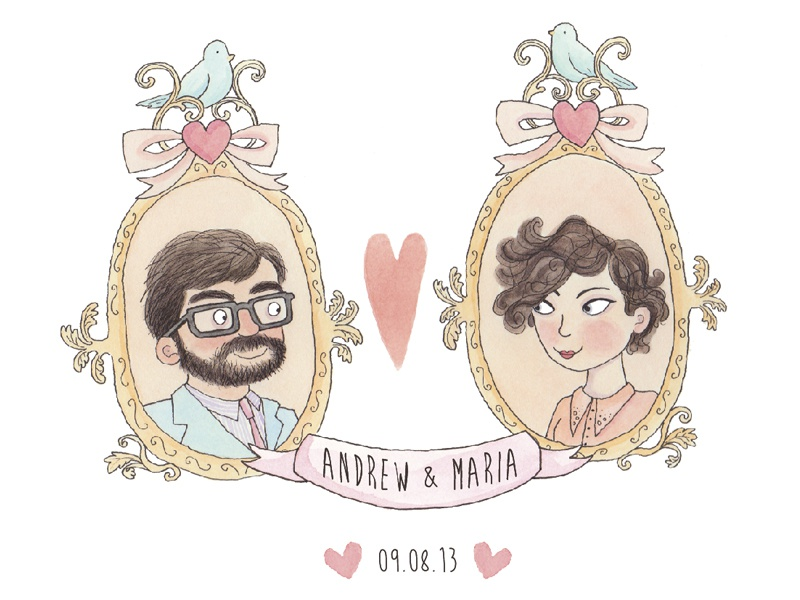 Wedding Invites wedding invites illustrations design