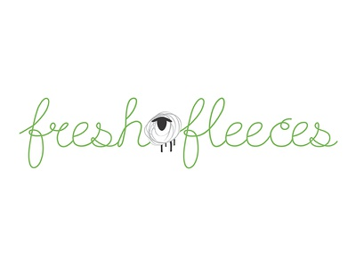 Freshfleece logo sheep design branding identity