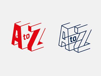 A to Z branding and logo design typography branding logo logotype