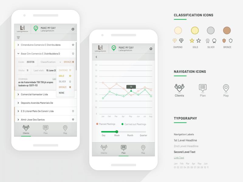 App UI Design branding web app icon ux typography design ui