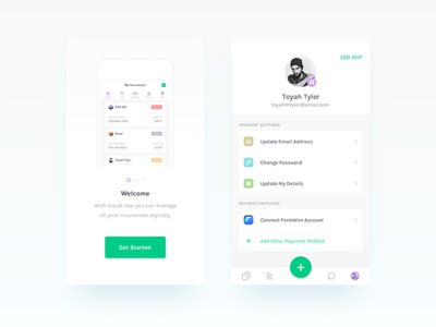 Insurance App - UI/UX Design