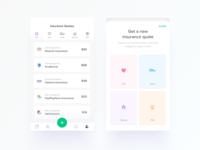 Insurance App - UI/UX Design