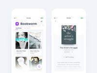 Free books app design exploration