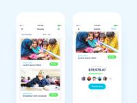 Charity App - List & Details Views