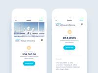 Charity App Design - Version 2