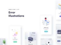 Error illustrations presentation