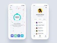 Estudio - Educational Mobile App UI Kit educational course learn study education list profile minimal design iphone ux ui android app ios