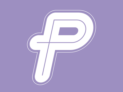 P | 36daysoftype logo 36daysoftype line branding minimal flat vector design typography typedrawing typedesign lettering
