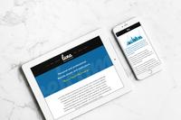 Luna Public Relations Website Design