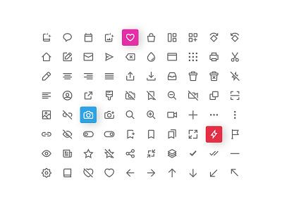 Icon set designed for Lifecake! app mobile ios iconset icon