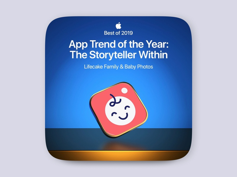 Lifecake, Best Of 2019 - Apple apple design ipad iphone x iphone mobile trend app store ios awards award apple