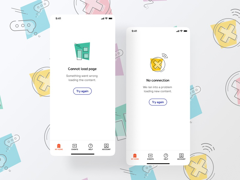 Error icons, part 2