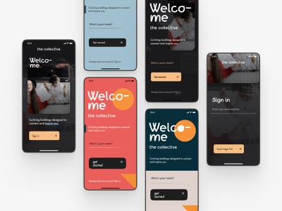 Onboarding signup sign up onboarding clean iphone iphone x ios digital design app ui mobile