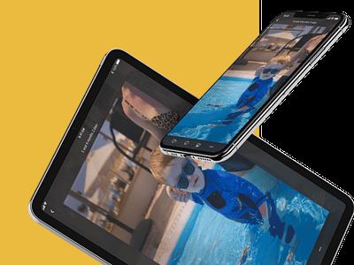 IOS App UI Design - Detail view/Photo detail gallery ios gallery iphone x iphone ipad photo detail video photo gallery photo journal detail view ui design digital design ios app ui mobile