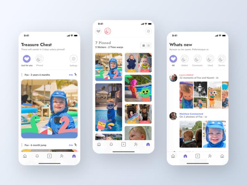 IOS App UI Design - Whats new in Lifecake