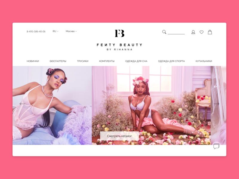Underwear stores uxdesign uidesign uxui design website ui ux webdesign