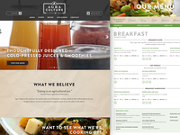 New Local Restaurant Website Launch